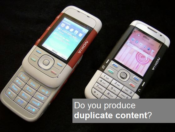 Does your website create duplicate content?